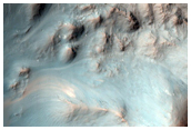 Central Pit and Layers of Impact Crater in Terra Sirenum