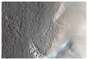 Craters in North Arabia Terra