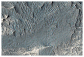 Ridges in Candor Chasma