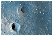 Distinctive Rayed Impact Crater in Meridiani Planum