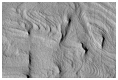 Bedding Features on Mound in Crater in Southern Arabia Terra