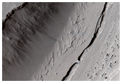 Small Winding Channel in Tartarus Colles