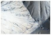 Escarpes en las laderas de Olympus Mons
