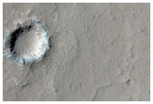 At the Summit of Arsia Mons Volcano