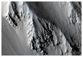 Sample Tharsis Tholus Caldera Wall