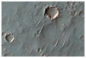 Ancient Lava Plain in Thaumasia Planum