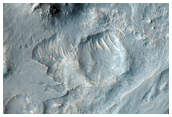 Southern Layered Mound and Floor in Gale Crater