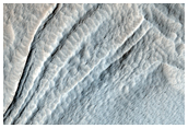 Glacier-Like Flow on Arsia Mons Flank
