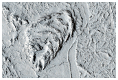Obstáculos topográficos en el sur-este de Elysium Planitia
