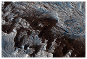 Layered Bedrock in Candor Chasma