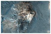 Light-Toned Outcrop in Aureum Chaos