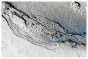 En un extremo de Lethe Vallis