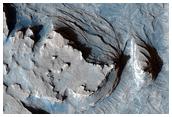 Curvilinear Ridge in Terra Meridiani
