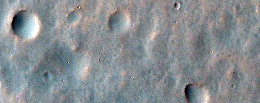 Edge of Fan in Bakhuysen Crater