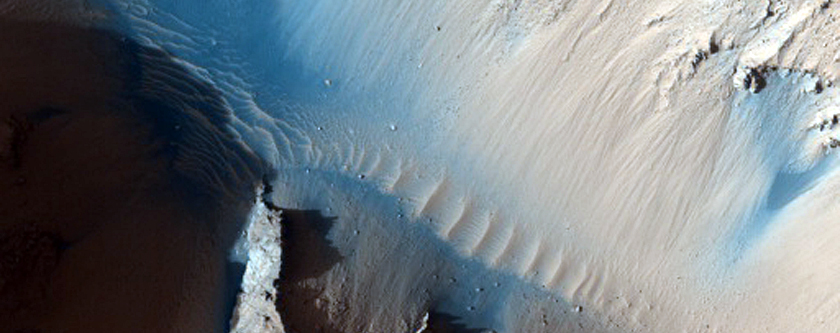 Cone at the Source of Athabasca Valles
