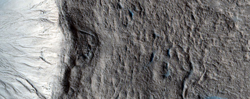 Very Fresh 1-Kilometer Impact Crater