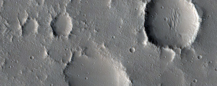 Candidate Fresh Impact Crater