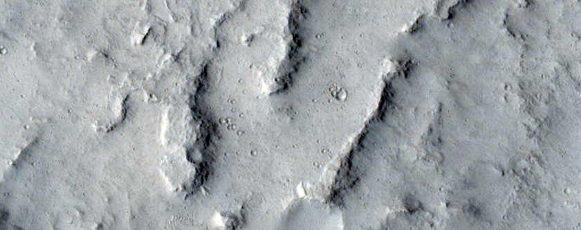 Unnamed Channel Reach East of Juventae Chasma