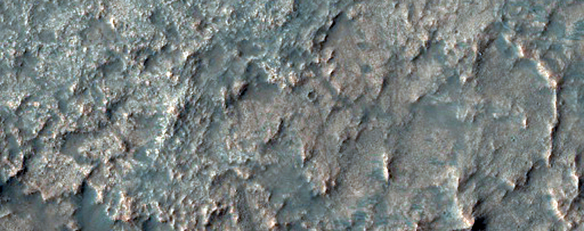 Possible Phyllosilicates in Northwest Argyre Region