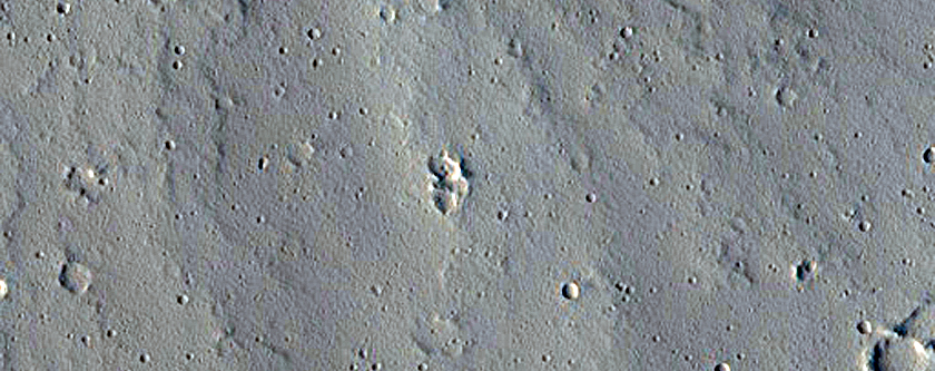 Dome-Shaped Feature East of Ascraeus Mons