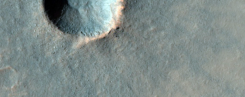 Recent Small Impact Crater