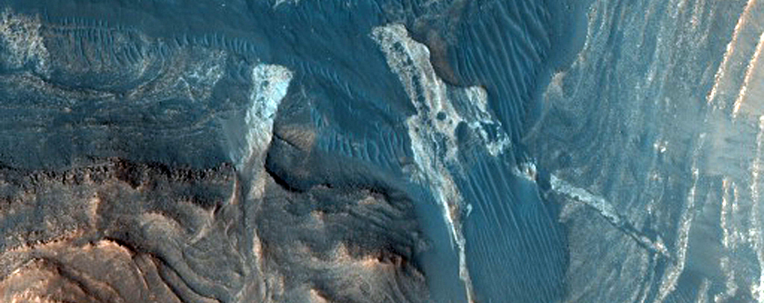 Grand Canyon of Gale Crater