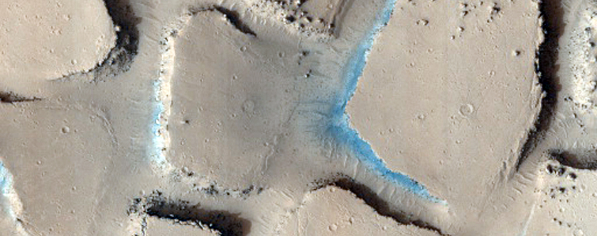 Disrupted and Blocky Outcrop in Cerberus Palus