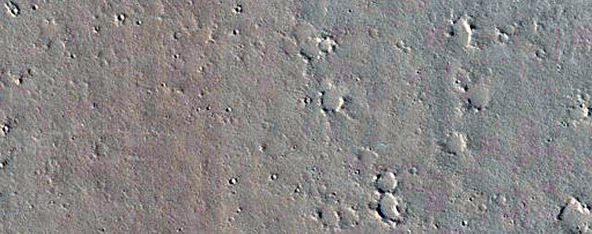 Recent Impact Site West of Ceraunius Fossae