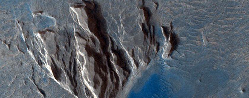 Matèria obscura a Olympus Mons Aureole