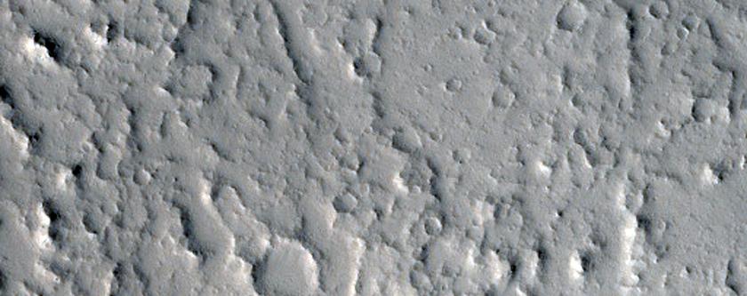 Steep Lobate Scarps in Kasei Valles