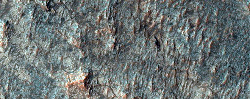 Possible Pyroxene-Rich Terrain