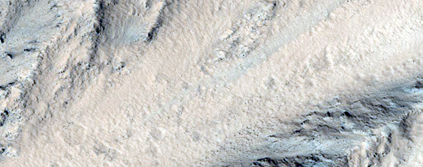Olympus Mons West-Facing Scarp