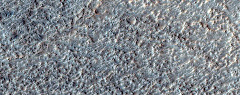 Possible Olivine-Rich Terrain on Crater Floor in Terra Sirenum
