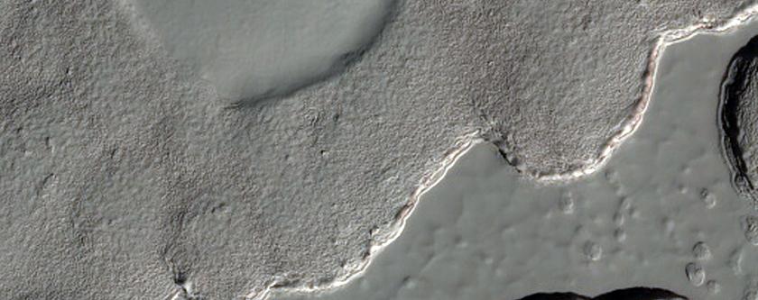 South Polar Residual Cap Monitoring - Rare Stratigraphic Contact