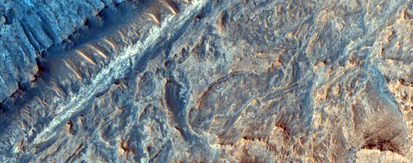 Sulfate and Clay Strata in Gale Crater