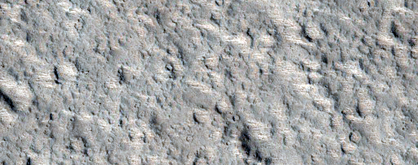Ascraeus Mons Summit Region Flows and Caldera