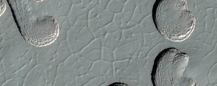 Landforms on the South Polar Residual Cap