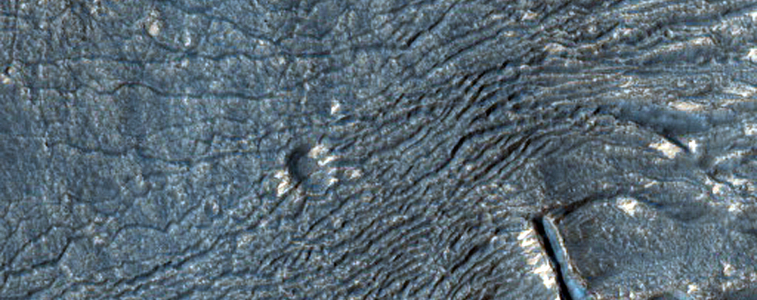 Fretted Terrain-Like Aprons Near Reull Vallis
