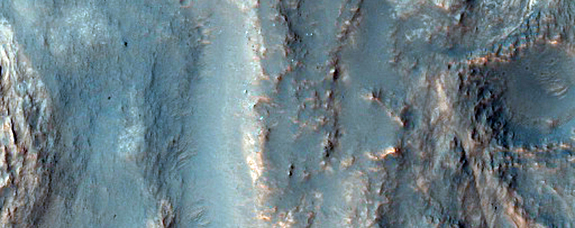 Light Toned Layers in Northern Hellas Planitia