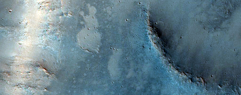 Channel Carved Into Scarp within Isidis Planitia
