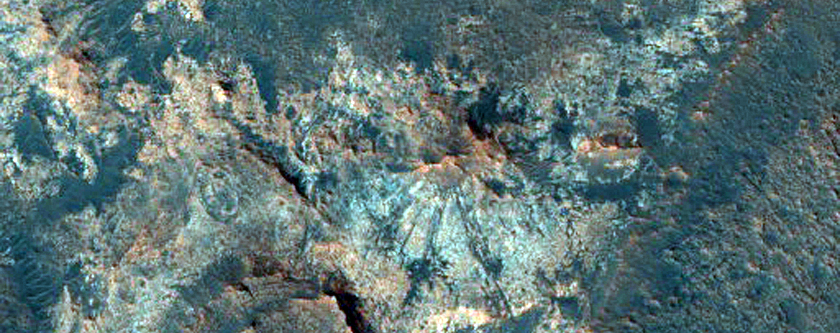 Western Mawrth Vallis Phyllosilicates