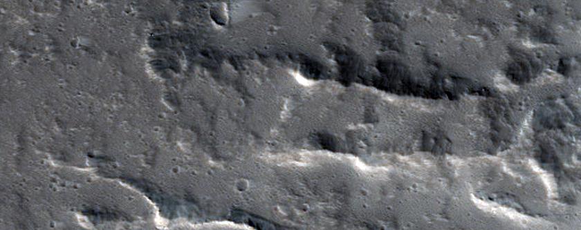 Eastern Olympus Mons