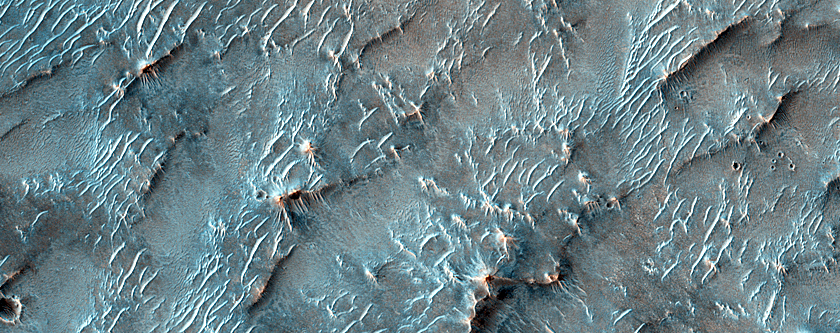 Phyllosilicates along a Scarp in Northwest Argyre Planitia