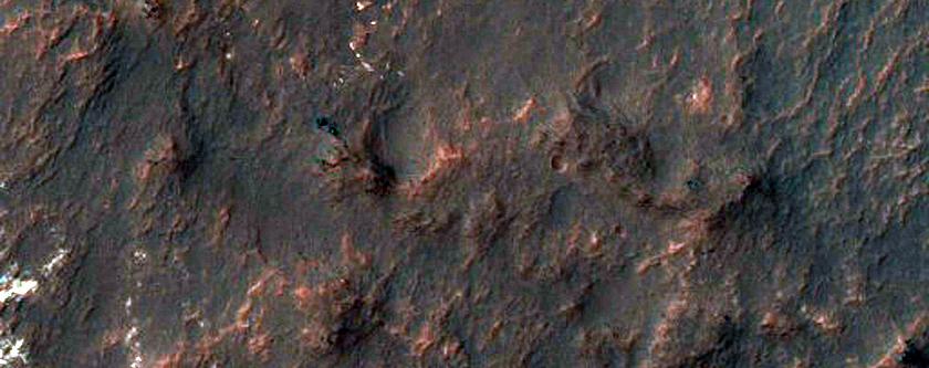 Dark Deposits in Gullies in Ariadnes Colles