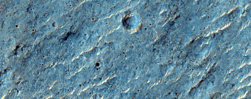 Wrinkle Ridge in Hesperia Planum