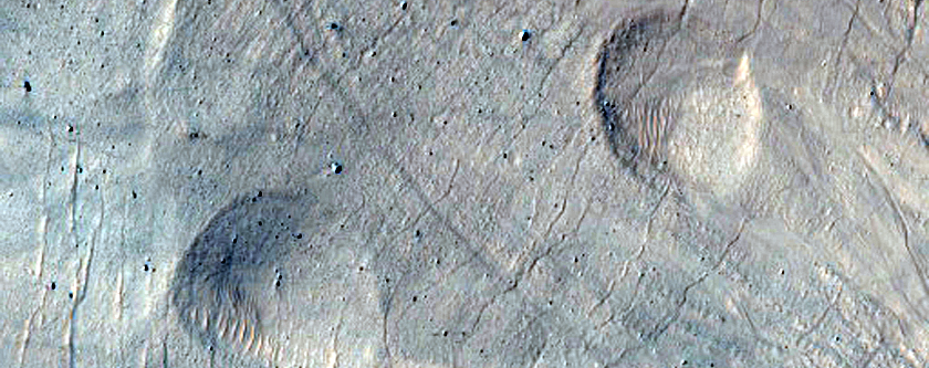 East Slope of Asimov Crater Central Pit