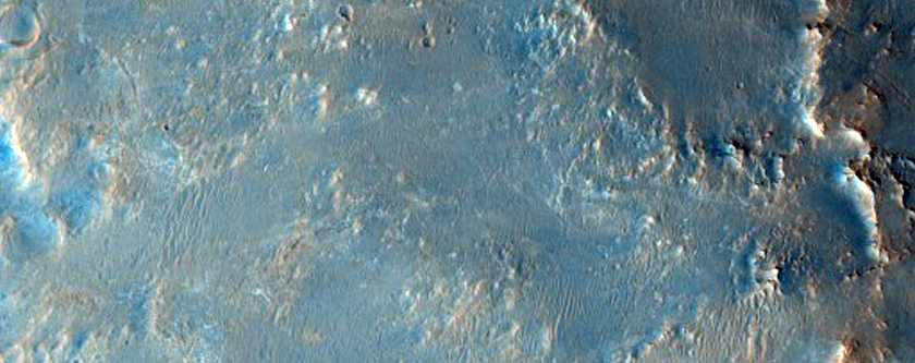 The Dark Spot on Mars