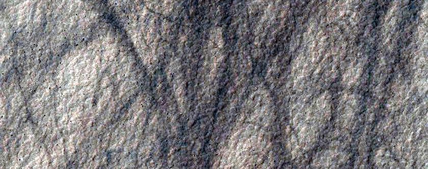 Aonia Terra Periglacial Sample