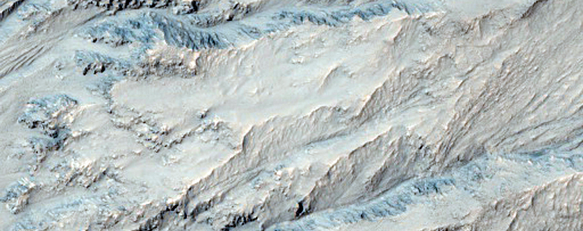 Well-Preserved Gullied Impact Crater