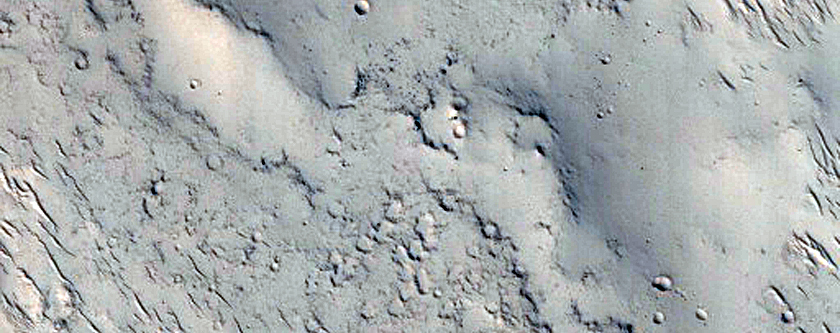 Landforms in the Tartarus Colles Region